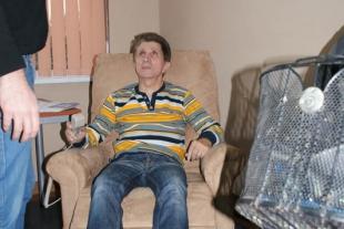 Prezentacja sprzętu rehabilitacyjnego