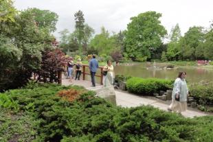 Wycieczka do wrocławskich ogrodów