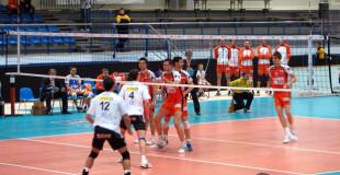 Mecz siatkarskiej Ligi Mistrzów